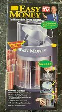 Easy Money Motorized Coin Bank Ac Adapter Automatically Sorts Counts Stacks