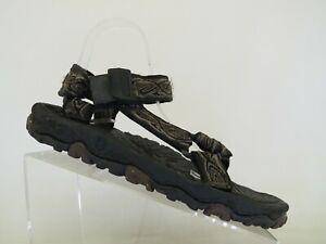 TEVA Brown Canvas Strap Comfort Sandals Shoes Mens Size 9 M
