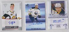 3 Buffalo Sabres autographed cards! Luke Adam, Matt Moulson & Tyler Myers