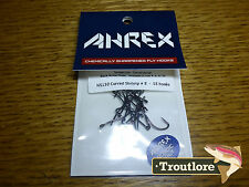 18 x AHREX NS150 #8 NORDIC SALT CURVED SHRIMP HOOKS NEW FLY TYING MATERIALS