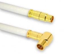 3 m Câble d'antenne TV numérique HDTV en cuivre 130db prise de courant femelle