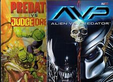 ANNI 80 PACK  3 vol.ROBOCOP di F.Miller+ Aliens Vs Predator + Predator Vs Dredd