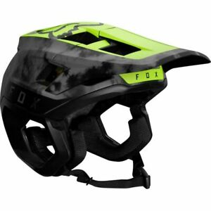 New Fox Racing Dropframe Pro Mountain Bike Helmet Medium Day Glo Yellow