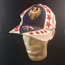 Austria Gray Embroidered Baseball Hat Cap Austria Flag Crest Adjustable