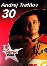 2003-04 German DEG Metro Stars Postcards #20 Andrej Trefilov
