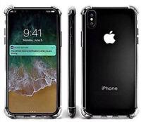 360° Clear Case Apple iPhone X 7 8 plus 8PLUS anti shock anti-slip Buffer