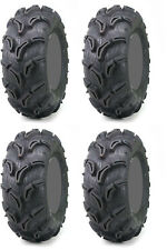 Four 4 Maxxis Zilla ATV Tires Set 2 Front 27x10-14 & 2 Rear 27x12-14