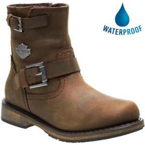 Harley Davidson Kommer CE Womens Waterproof Motorcycle Biker Boots Size 5-7.5