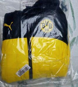 Bvb Borussia Dortmund wms Winter Jacke reversible jacket für Trikot jersey Reus