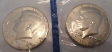 1985 P & D Kennedy Half Dollar Set (2 Coins) *MINT CELLO*  **FREE SHIPPING**