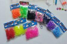 Loom Bänder Armbänder versch. Farben Gummibänder bunt