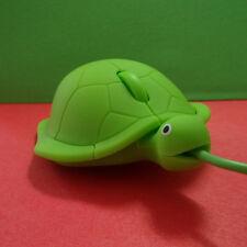 NUOVO Mini Silicone Carino Tartaruga 3D USB Mouse ottico cablato Topi Per Laptop MacBook