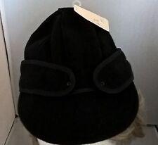KROMER Original Black Stormy Men's Wool Railroad Hat Beanie Cap, SZ. 6 7/ 8 cap