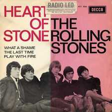 """ROLLING STONES """"HEART OF STONE"""" ORIG HOLL EP 1965 VG++/VG+"""