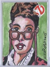 Ghostbusters 2016 Cryptozoic Sketch Art Card by Niceroad Janine Melnitz 1/1