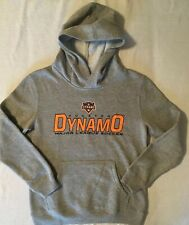 New MLS Houston Dynamo Youth Hoodie Sweatshirt - Medium 10/12 Cotton Blend