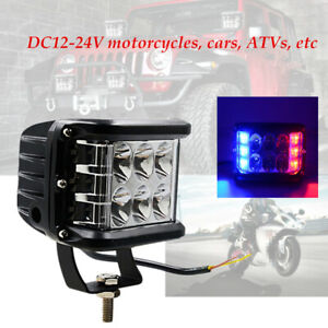 Motorcycle Car ATV ABS+metal Large-scale heat dissipation LED Screw headlight