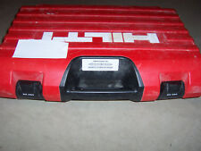Hilti Dx 460  Powder Actuated Gun Carrying Case
