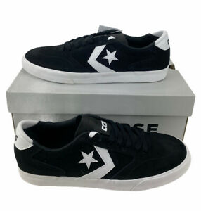 NEW Converse Checkpoint Pro Ox CONS Suede Shoes Sneakers Black White Mens 8.5