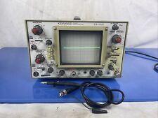 Kenwood 20mhz Oscilloscope Cs 1021 2 Channel Dual Trace 5060hz 39w