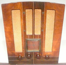 vintage * GENERAL ELECTRIC GE TOMBSTONE M-62 RADIO:  Tested & Working  AM & SW