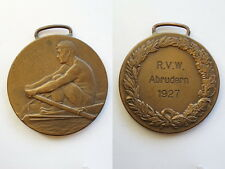 German Reich 1926 Medal Rowing club Forest lake Original rare