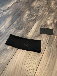SAMPLE- Arc'Teryx Phase AR Headband Band Black Toque Beanie Cap Hat New S/M