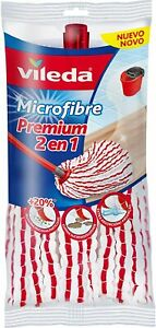 Vileda Microfibre 2 in 1 Easy Wring & Clean Mop Refill Replacement Heads