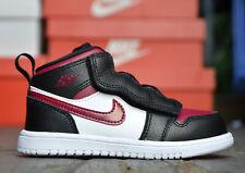 Nike Jordan 1 mid niños Baby chica zapatos zapatillas negro 25