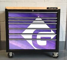 """Custom Printed Drawer covers for Snap on 40"""" Roll Cab"""