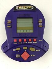 Yahtzee Jackpot Handheld Electronic Game Purple 1999