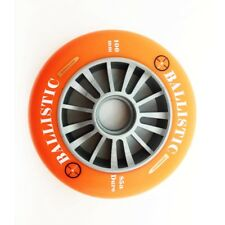 Razor Style Ballistic Scooter Wheel Silver Plastic Core 100mm With ORANGE