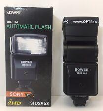Bower Model SFD296S Digital Automatic Flash / Sony Alpha DSLR Camera Fast Ship!!