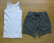 Athleta Two Athletic Workout Clothing Top & Shorts Women's Size XS