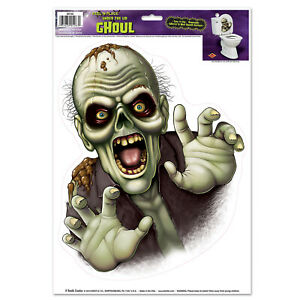 The Beistle Company Under The Lid Ghoul Peel 'N Place (Pack of 12)