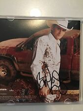 "Brad Paisley ""Mud On The Tires"" Autographed CD Picture"