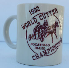 1992 World Cutter Championship Pocatello, Idaho Coffee Cup