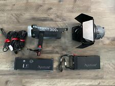 New ListingAputure Ls C300D V-Mount Led Light + Fresnel Lens & Barn Doors