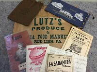 Lot Of Vintage Advertising Ephemera Items-Red Lion, Pa-Lot B