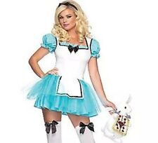 Leg Avenue Enchanted Alice In Wonderland Costume Sexy Dress Size XS