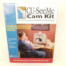 NIB-Sealed CU-See Me Cam Kit 1999 Windows w/ membership to CU-SeeMe World