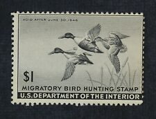 CKStamps: US Federal Duck Stamps Collection Scott#RW12 $1 Unused NG