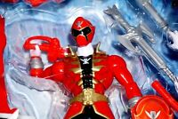 MIGHTY MORPHIN POWERS RANGERS ARMORED SUPER MEGA RED BANDAI 2014 ACTION FIGURE