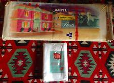 Vintage Actil Townhouse Queen Sheet Set & Pillow Cases MIB Luxury Pure Cotton