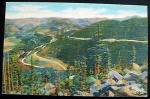 1936 Trail Ridge Road, Hidden Valley & Horseshoe Park, Rocky Mt. National Park,