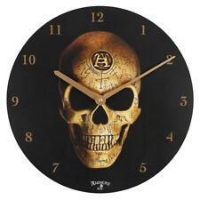 Alchemy Oméga Crâne - Horloge Murale - Tout Neuf