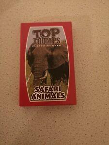 Top Trumps safari animals Card Game McDonald's Happy Meal Toy