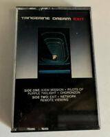 TANGERINE DREAM - Exit - Cassette Tape - EX