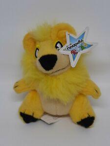 """Neopets Yellow Yurble Bear McDonalds Mini Promo Plush Stuffed Toy 4"""""""
