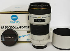 Objectif Minolta AF Zoom APO G 80-200 mm f/2.8 High Speed - SONY alpha -